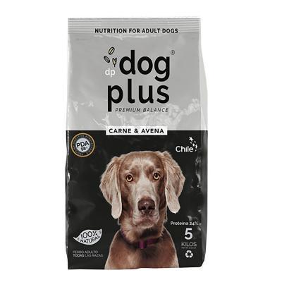 Alimento de perros 5 kg carne y avena 100% natural