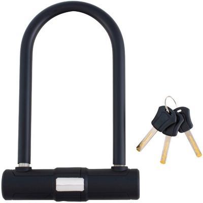Candado para bicicleta u-lock negro