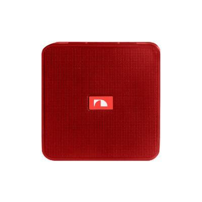 Parlante portatil rojo