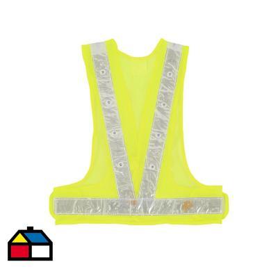 Chaleco led  talla única / amarillo