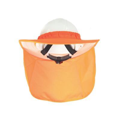 Pantalla solar para casco/naranjo flúor