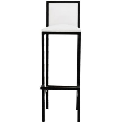 Piso bar kamikaze negro 80x34x100 cm