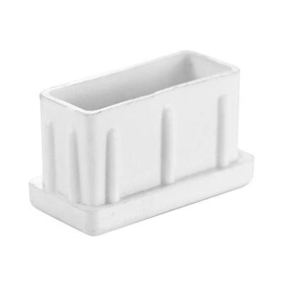 Regatón 2x3x2 cm interior blanco 100 unidades