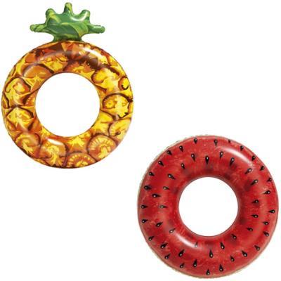 Flotador aro fruta 116cm diametro, surtido