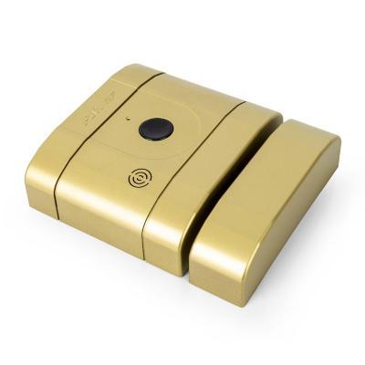 Cerradura digital Int-Lock 504 RF latón mate