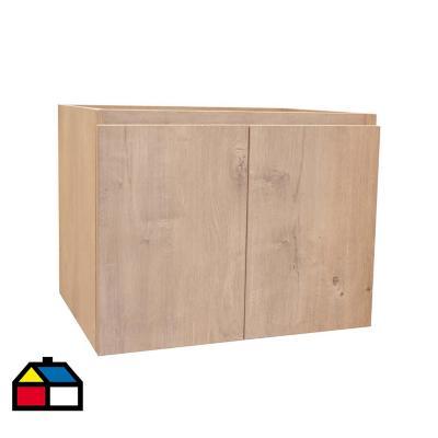 Mueble ermes nogal 60x46 cm