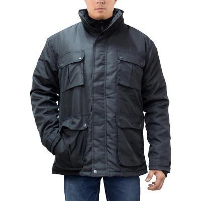 Pantalón hombre gris talla XXL quebec fibra strech