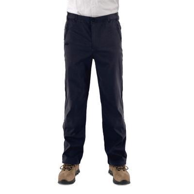 Pantalón hombre azul talla L quebec fibra strech