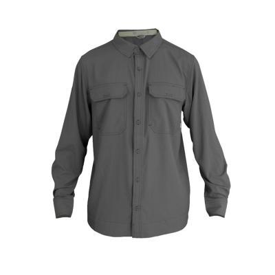 Camisa hombre gris talla XL hw oregon geo tech dry