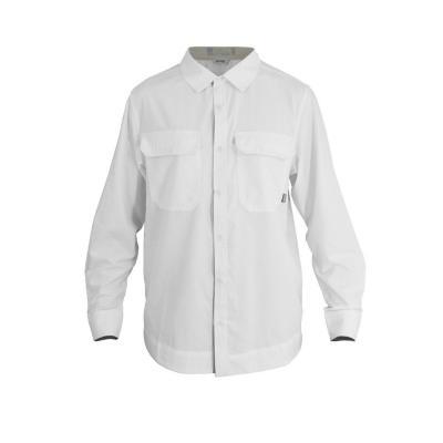 Camisa hombre blanco talla S hw oregon geo tech dry