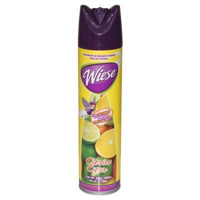 Aromatizante aerosol citrus 400 ml 12 unidades