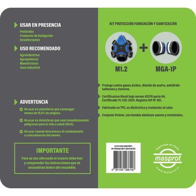 Kit protección fumigación y sanitación