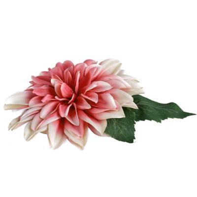 Flor navidad 18 cm rosado