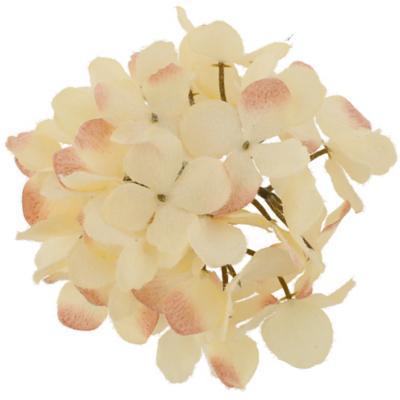Flor navidad 20 cm blanco