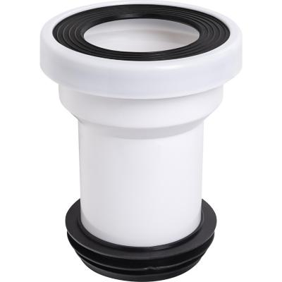 Manguito 110 salida Horizontal para inodoro Dual con junta labiada