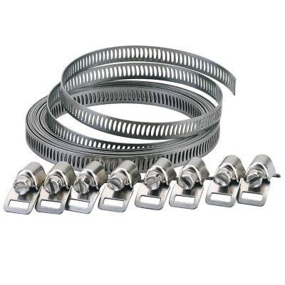 Kit cinta acero adapflex 3m / 8 cabezales 14 mm. AISI 430