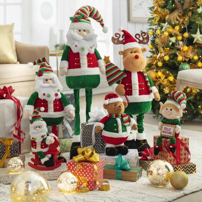Santa de pie textil 100 cm extensible