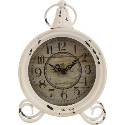 Reloj provenzal 16x22 cm blanco