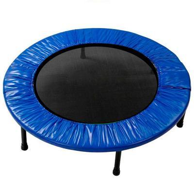 Trampolín home fitness plegable 100cm azul
