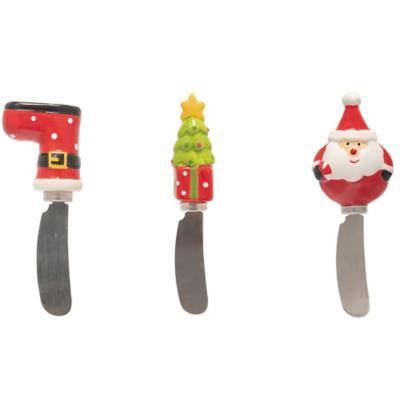 Cuchillo untable navidad surtido