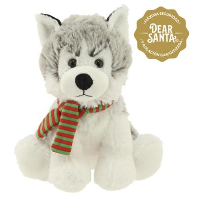 Perro con bufanda 24 cm