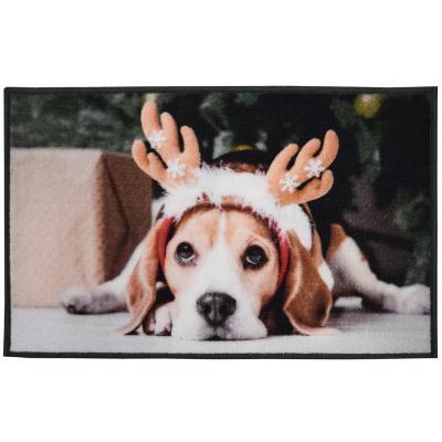 Limpiapies perro reno 76x44 cm