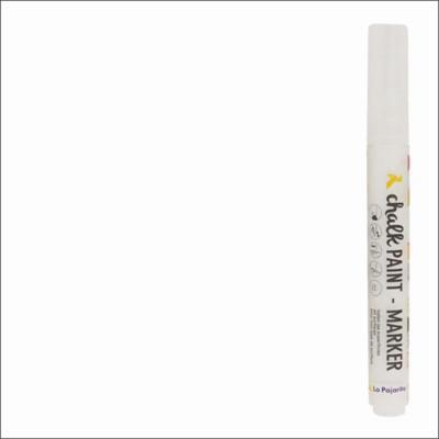 Marcador chalk color blanco