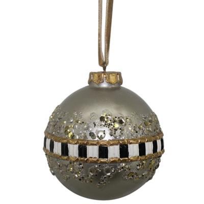 Esfera navidad deluxe 8 cm