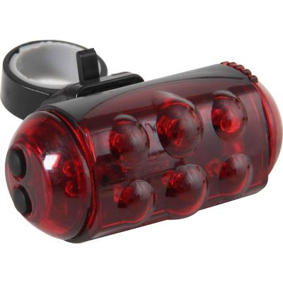 Luz led roja para bicicleta a pilas