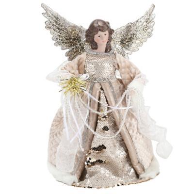 Tope de árbol angel 32 cm