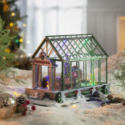 Casa 22 cm navidad