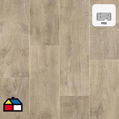 Piso vinílico oak rollo 60 m2
