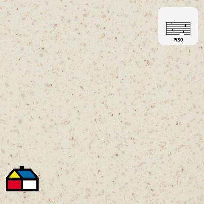 Piso vinílico granito blanco rollo 60 m2
