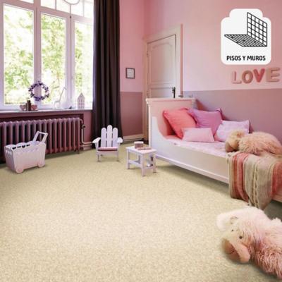 Piso vinílico granito beige rollo 60 m2