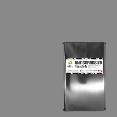 Anticorrosivo reciclado gris 5 galones
