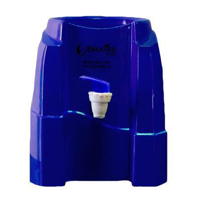 Dispensador soporte de agua azul
