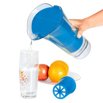 Jarro purificador de agua azul 2,5 litros
