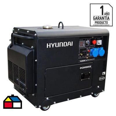 Generador eléctrico a diesel 6300W