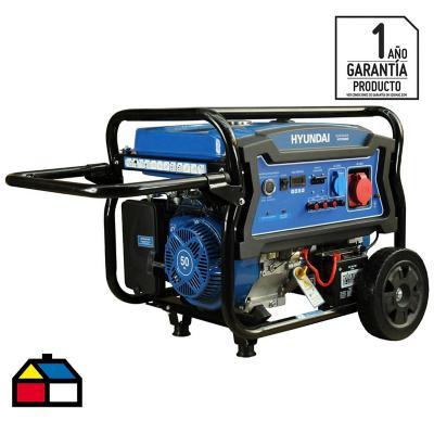 Generador eléctrico a gasolina 6500W