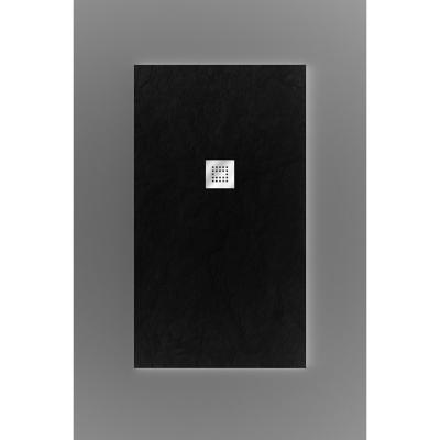 Plato de ducha 120x80cm grafito