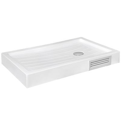 Plato de ducha 150x80x14 cm blanco
