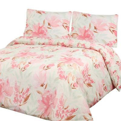 Funda para plumón Romantic king rosa