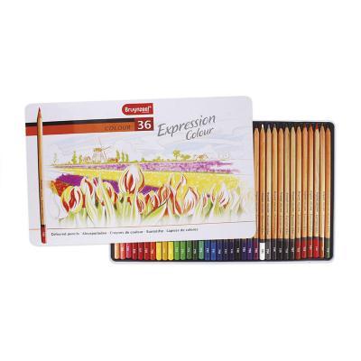 Caja metálica de lápices 36 colores