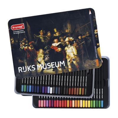 Caja metálica de lápices 50 colores