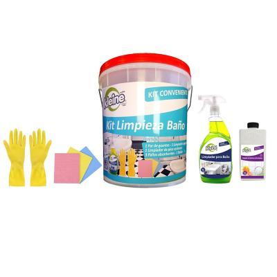 Kit limpieza conveniente baño