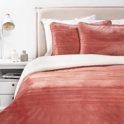 Cobertor velvet paprika king