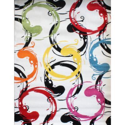 Alfombra pasillo 80x230 cm multicolor