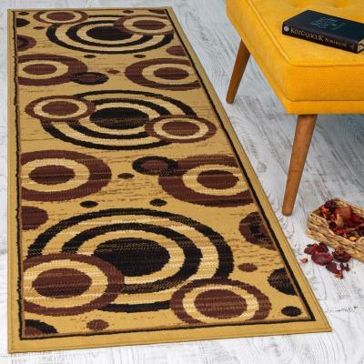 Alfombra pasillo kashan king 70x230 cm beige