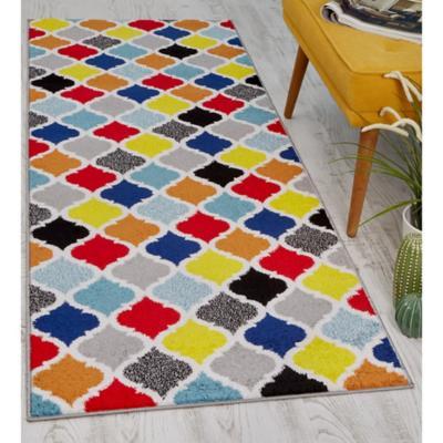 Alfombra pasillo florida 80x230 cm multicolor