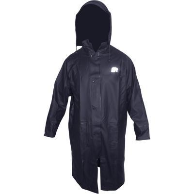 Abrigo azul talla M poliuretano
